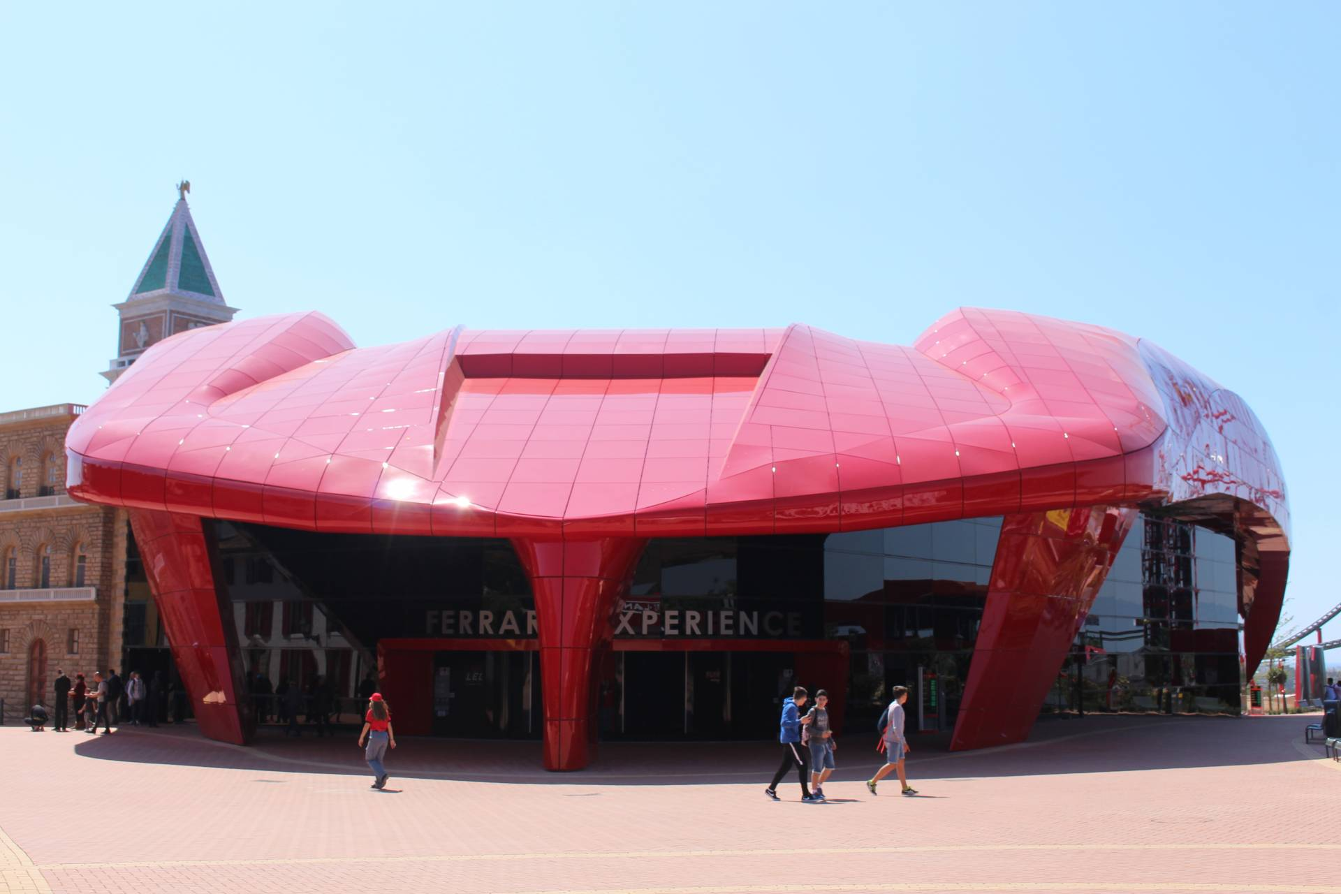 ferrari land, portaventura, spain, grand opening