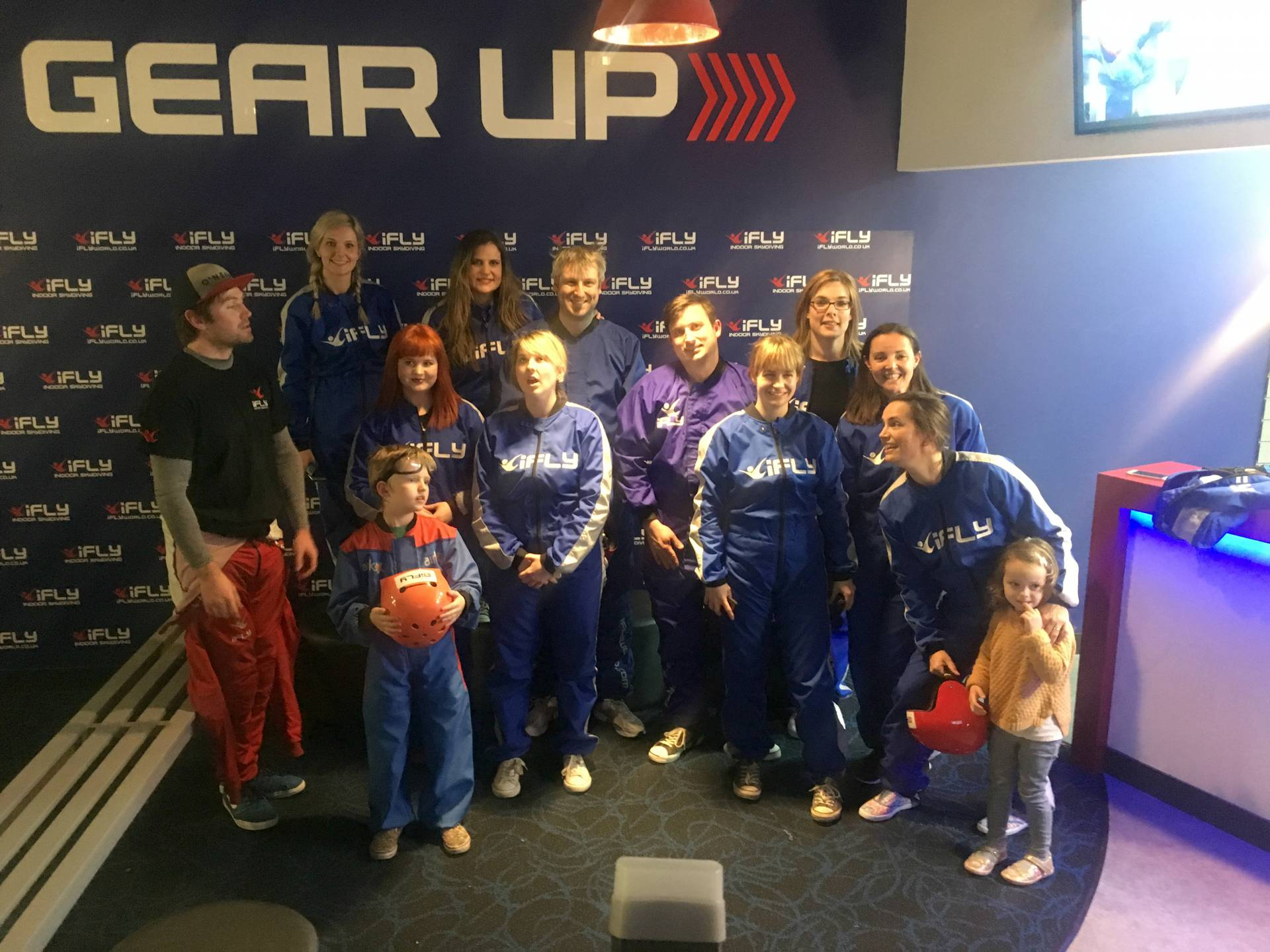 iFly Milton Keynes, indoor skydiving, red letter days