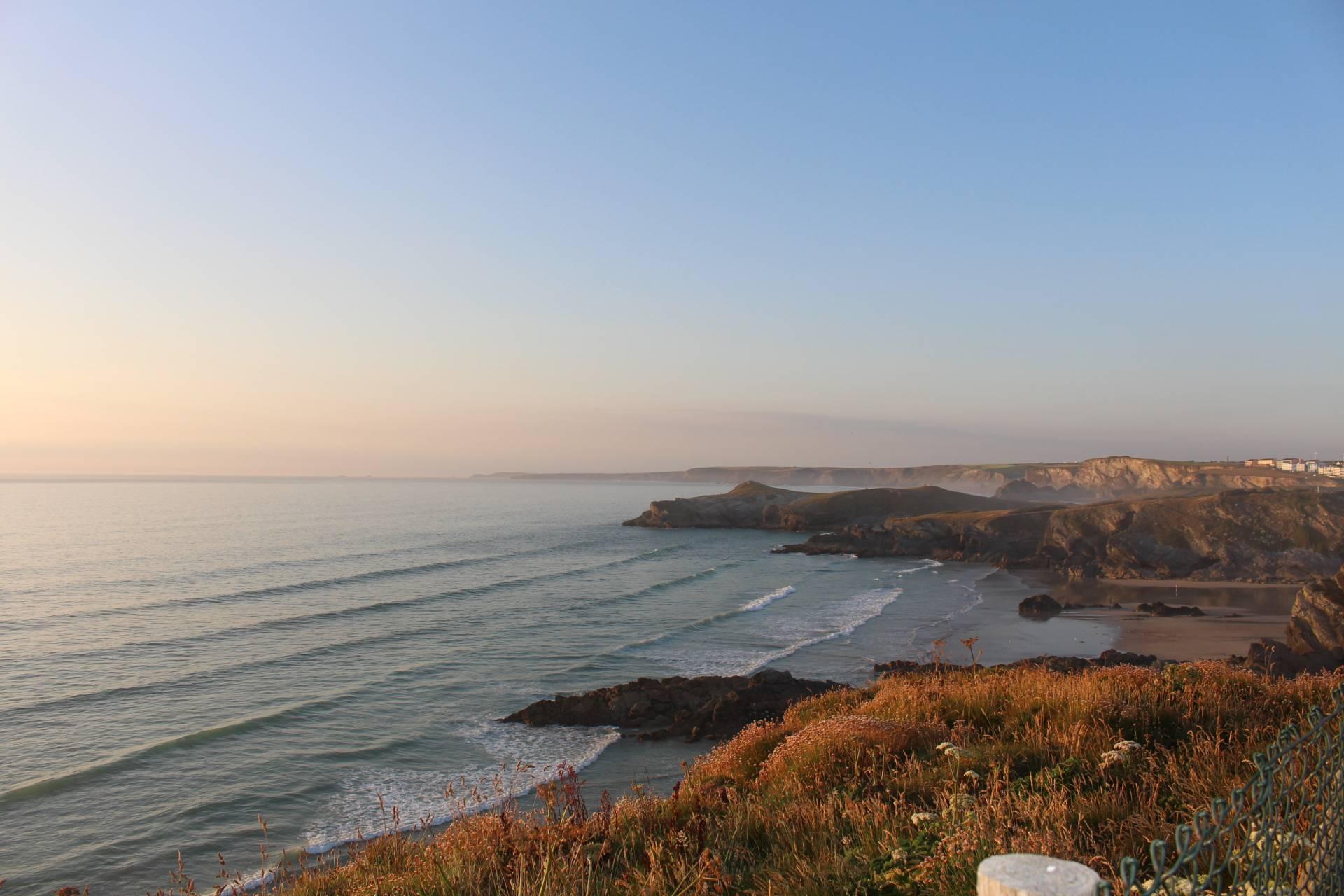 Newquay coastline, Cornwall
