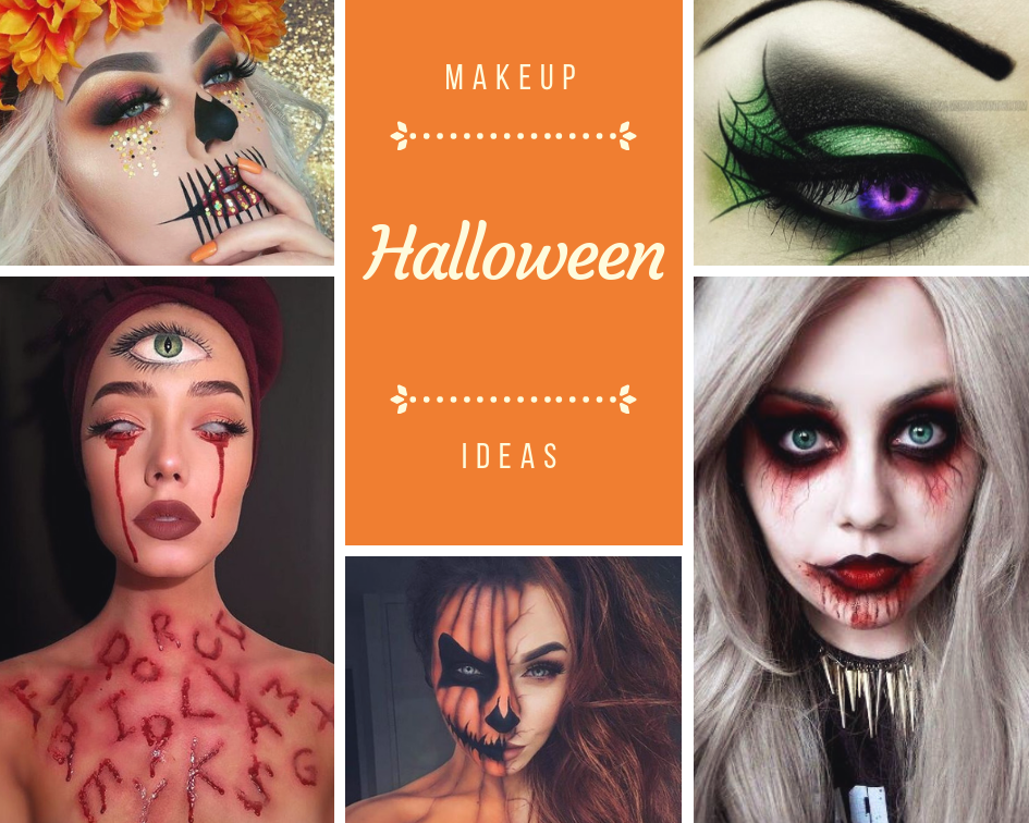 Halloween makeup looks from Pinterest