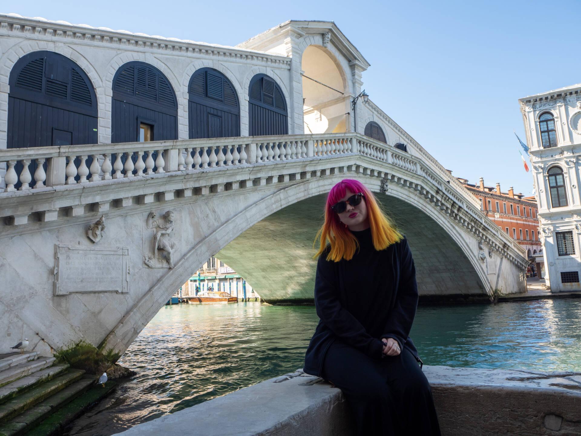 Rialto Bridge, Venice on a budget